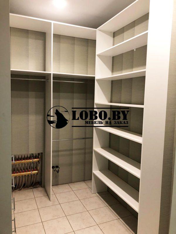 гардеробная комната из лдсп